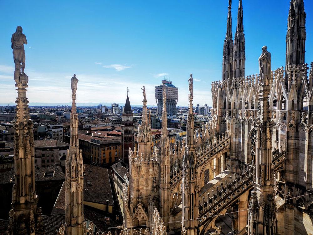Visite guidate tra le guglie e nel Duomo di Milano