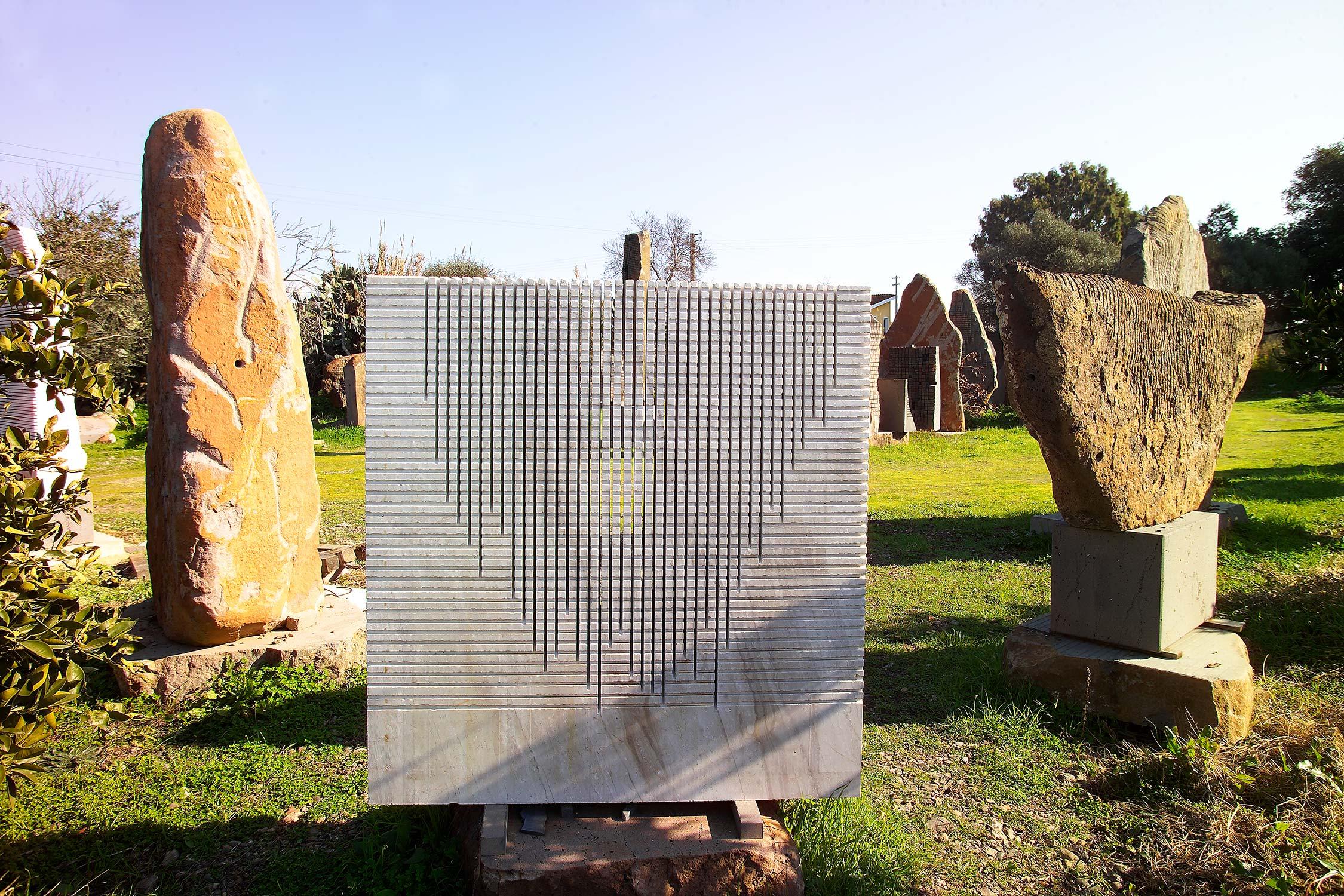 Il Giardino Sonoro di Pinuccio Sciola a San Sperate