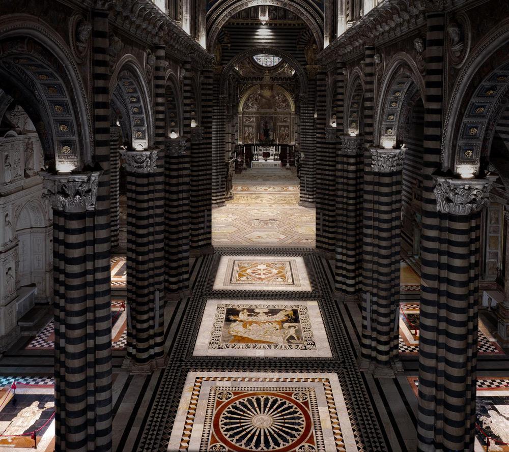 Scoperto anche quest'anno il Pavimento del Duomo di Siena, da agosto a ottobre