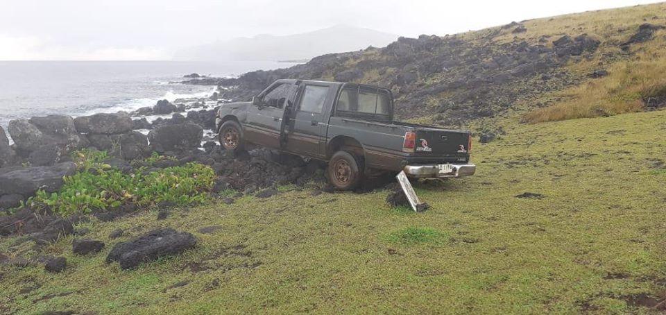 Isola di Pasqua, una macchina abbatte un moai. E il sindaco vieta l'accesso dei veicoli ai siti culturali