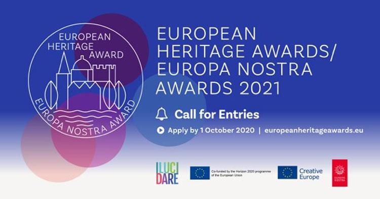 European Heritage Awards. Aperte le iscrizioni per il più alto riconoscimento europeo nel patrimonio culturale
