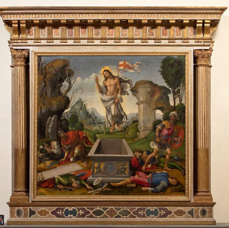Galleria dell'Accademia Firenze: avviato il restauro della Resurrezione di Raffaellino del Garbo