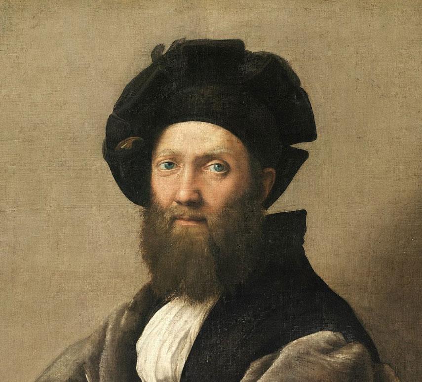 Baldassarre Castiglione e Raffaello. Palazzo Ducale di Urbino celebra l'autore del Cortegiano e il grande artista