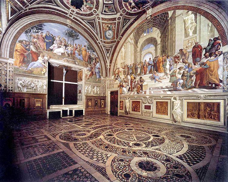Arte in tv dal 6 al 12 luglio: la Roma di Raffaello, Bosch, gli impressionisti, Banksy