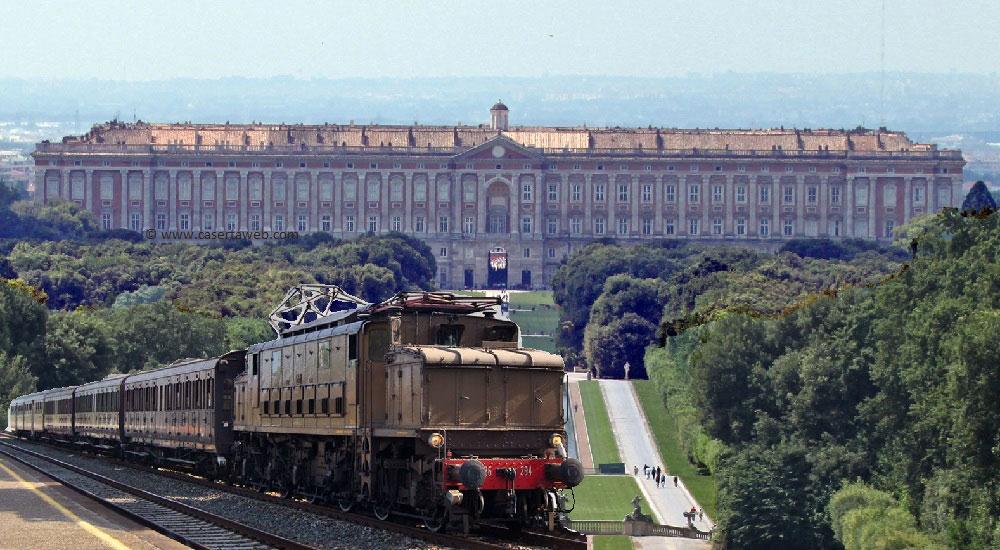 Torna Reggia Express: da Napoli alla Reggia di Caserta a bordo di un treno storico