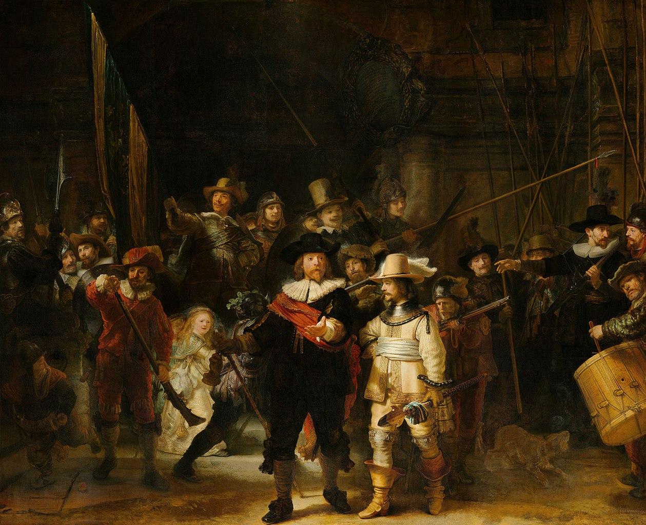 La Ronda di Notte di Rembrandt come non la si è mai vista: online la foto più dettagliata di sempre