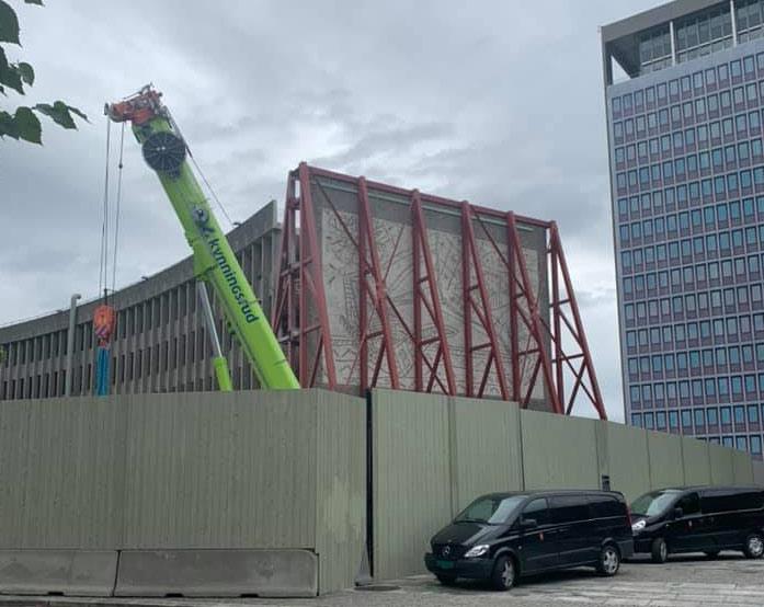 Oslo, governo norvegese rimuove i murali di Picasso da edificio che sarà abbattuto
