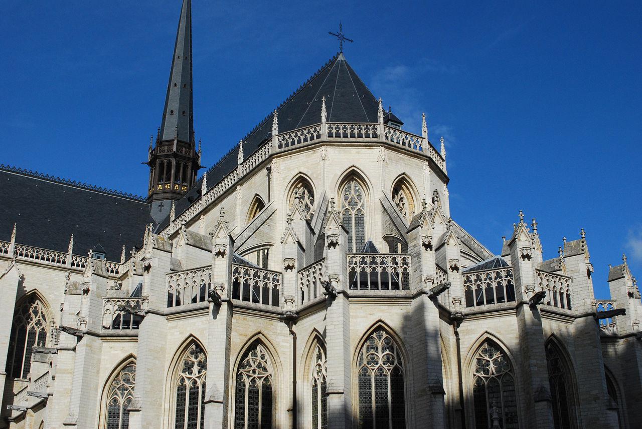 L'abside della chiesa. Ph. Credit Jean Housen