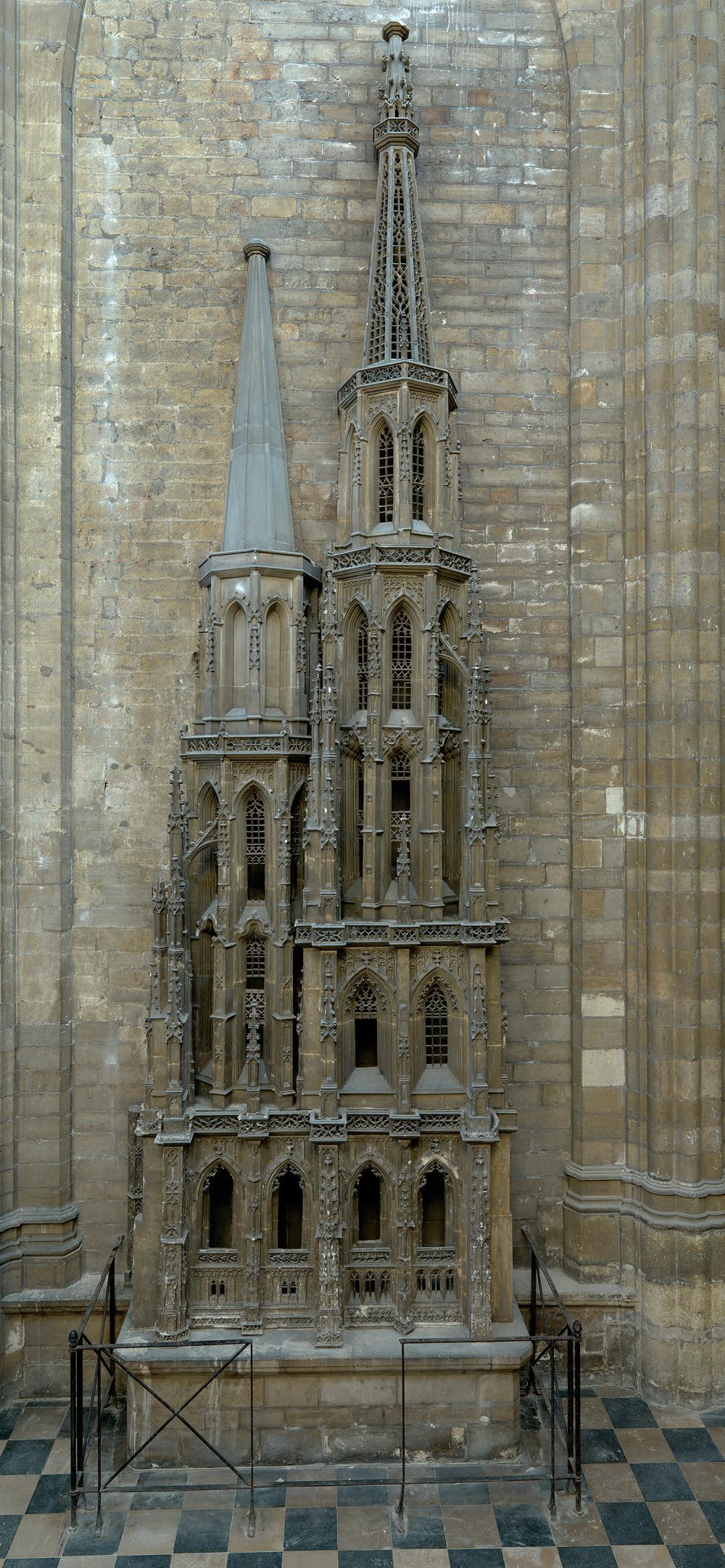Il modello della torre. Ph. Credit Dominique Provost