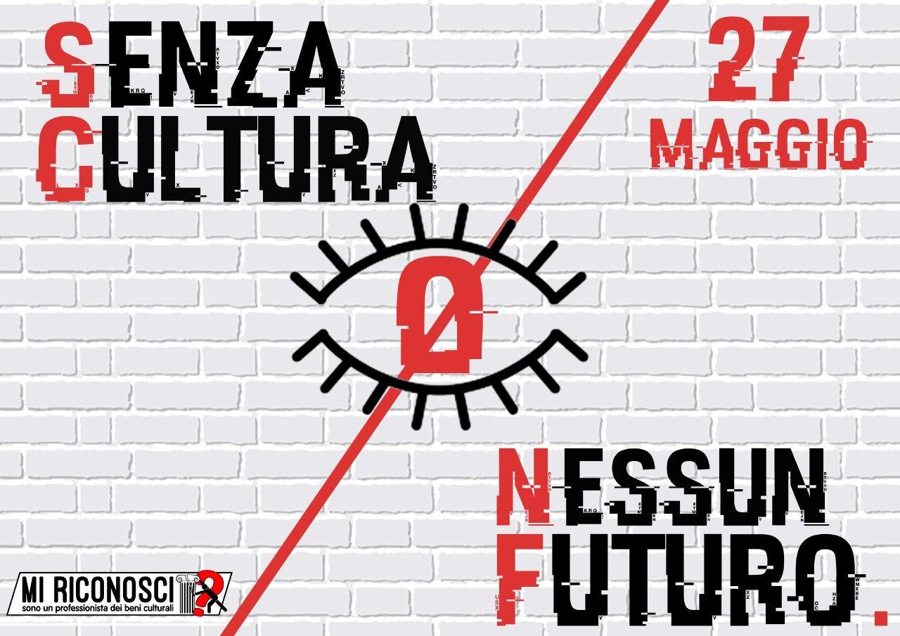 """I precari della cultura protestano il 27 maggio: """"senza cultura nessun futuro"""""""
