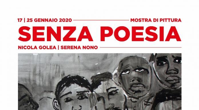 """""""Senza poesia"""": gli artisti Nicola Golea e Serena Nono riflettono sulle migrazioni in una mostra da Emergency a Milano"""