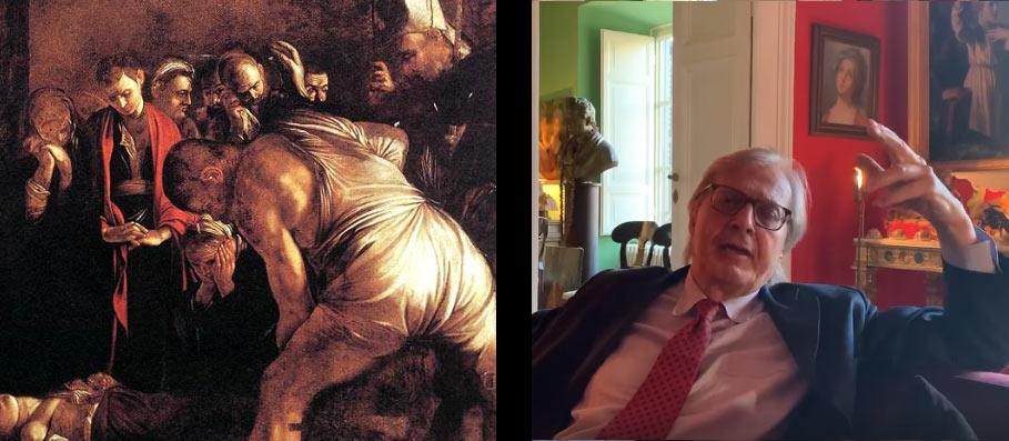 """Sgarbi rinuncia al prestito del Caravaggio: """"ora trovate voi i soldi per intervento e teca"""""""
