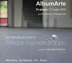 """""""Allegra ma non troppo"""": è Sonia Andresano protagonista di una personale a Roma"""