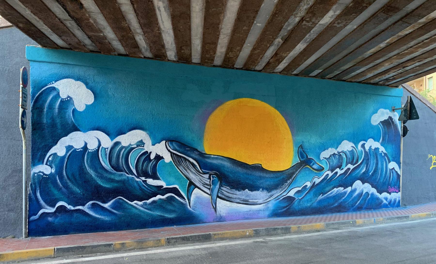Liguria, il borgo di Vallecrosia rinasce grazie alla street art: via al progetto di riqualificazione