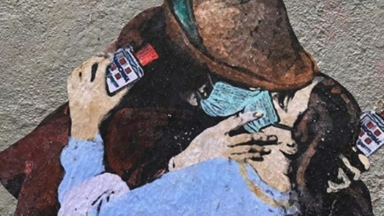 In attesa della prossima opera di Banksy (sarà sul coronavirus?), ecco come la street ha reagito all'emergenza