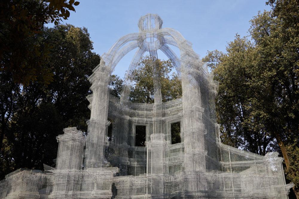 Arte contemporanea a Villa Borghese, dagli igloo di Merz alla scultura abitabile di Tresoldi