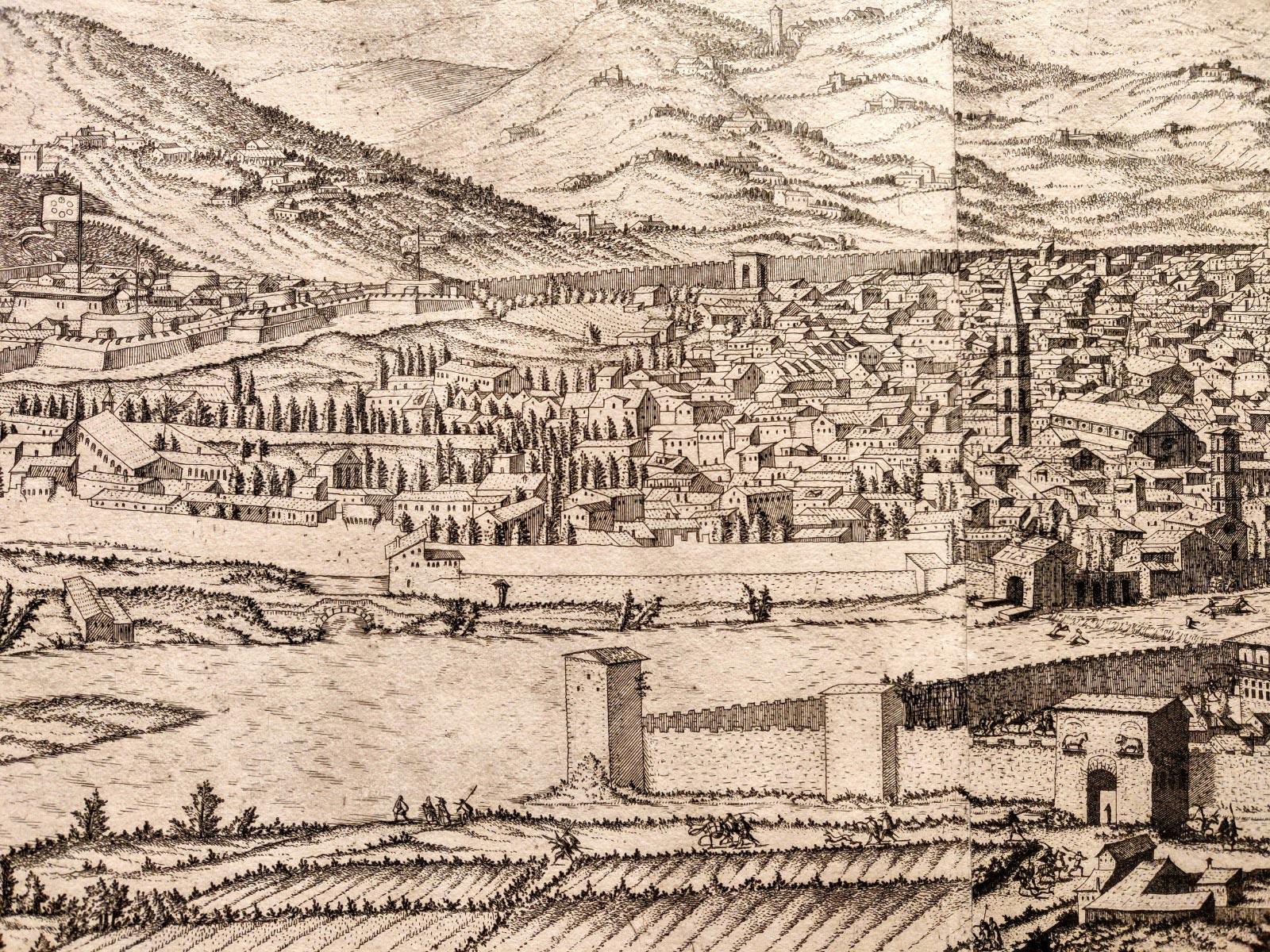 Ecco com'era Firenze nel Rinascimento: gli Uffizi acquistano una rarissima veduta della città del 1557