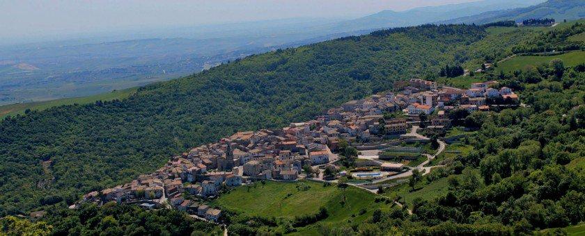 Veduta di Alberona