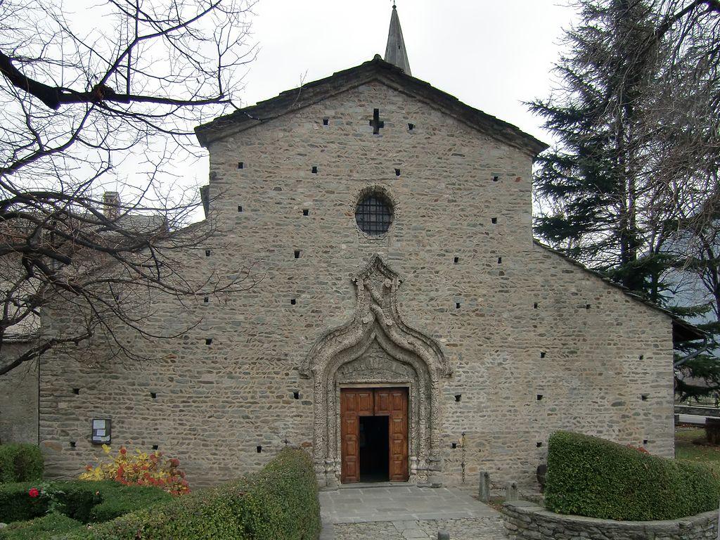 La chiesa di San Martino di Tours ad Arnad