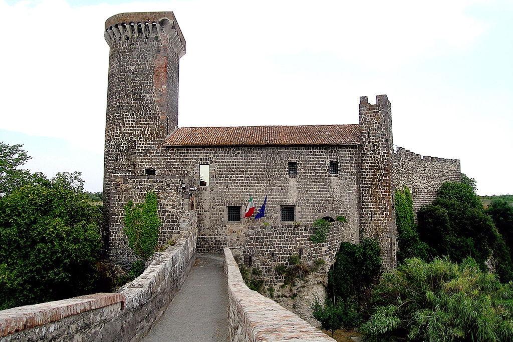 Canino, il Castello dell'Abbadia. Ph. Credit Walter Gams