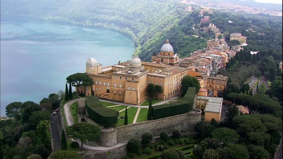 Veduta di Castel Gandolfo