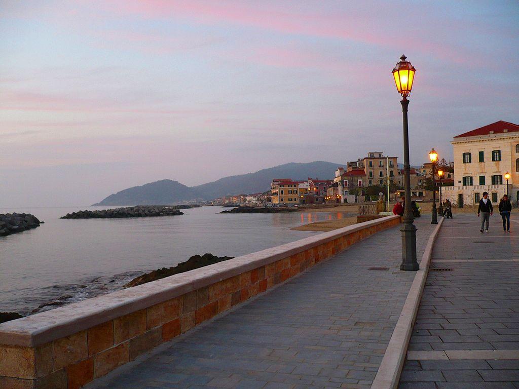 Castellabate, il litorale della frazione di Santa Maria