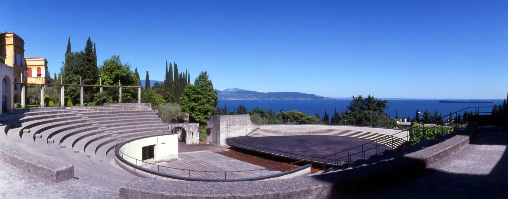 Gardone Riviera, il teatro all'aperto del Vittoriale