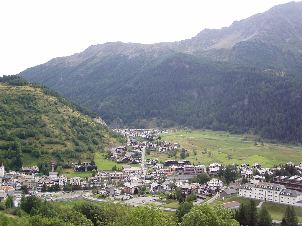 Veduta di La Thuile