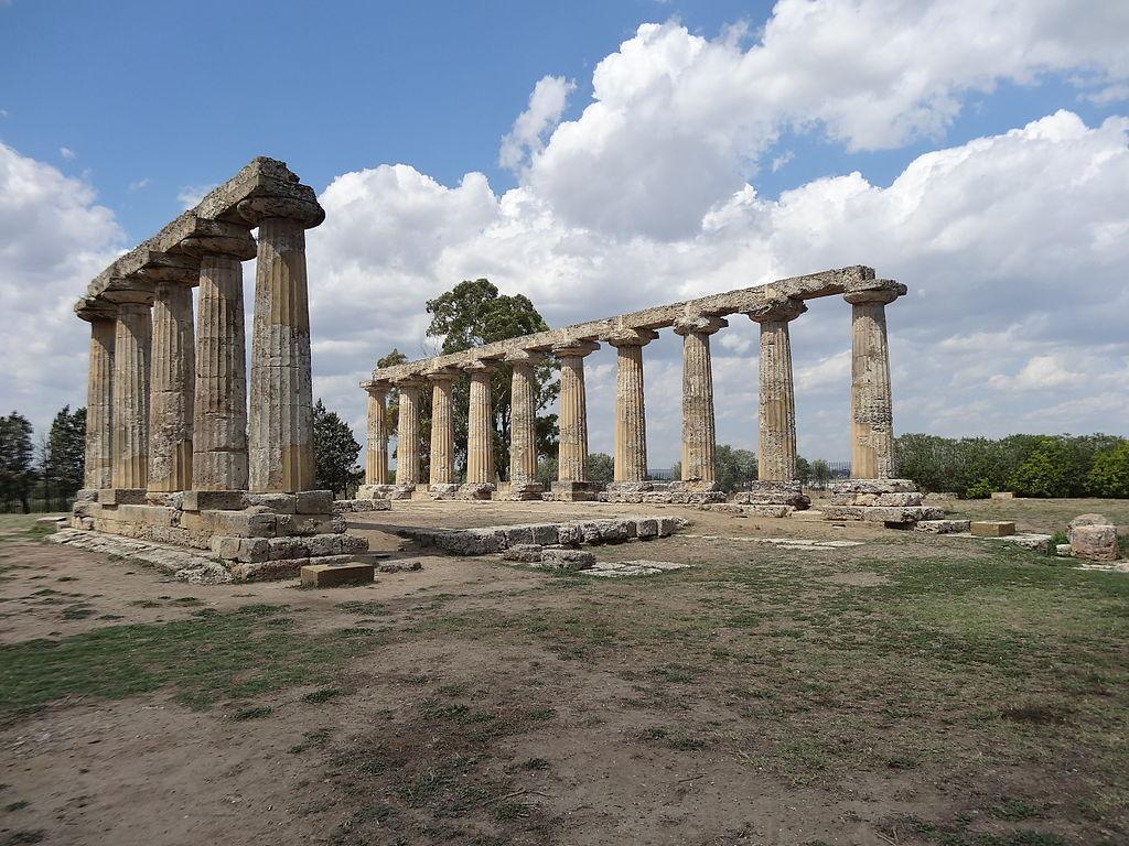 Il tempio noto come Tavole Palatine