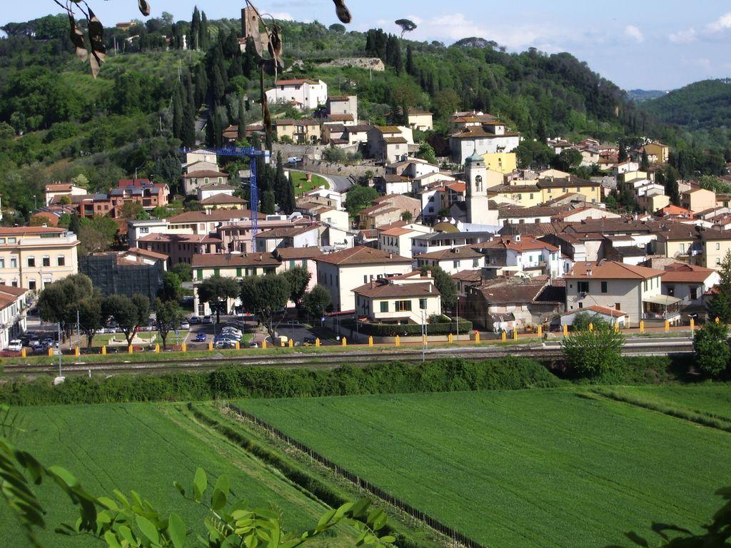 Veduta di Montelupo Fiorentino
