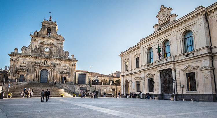 Palazzolo Acreide, Piazza del Popolo