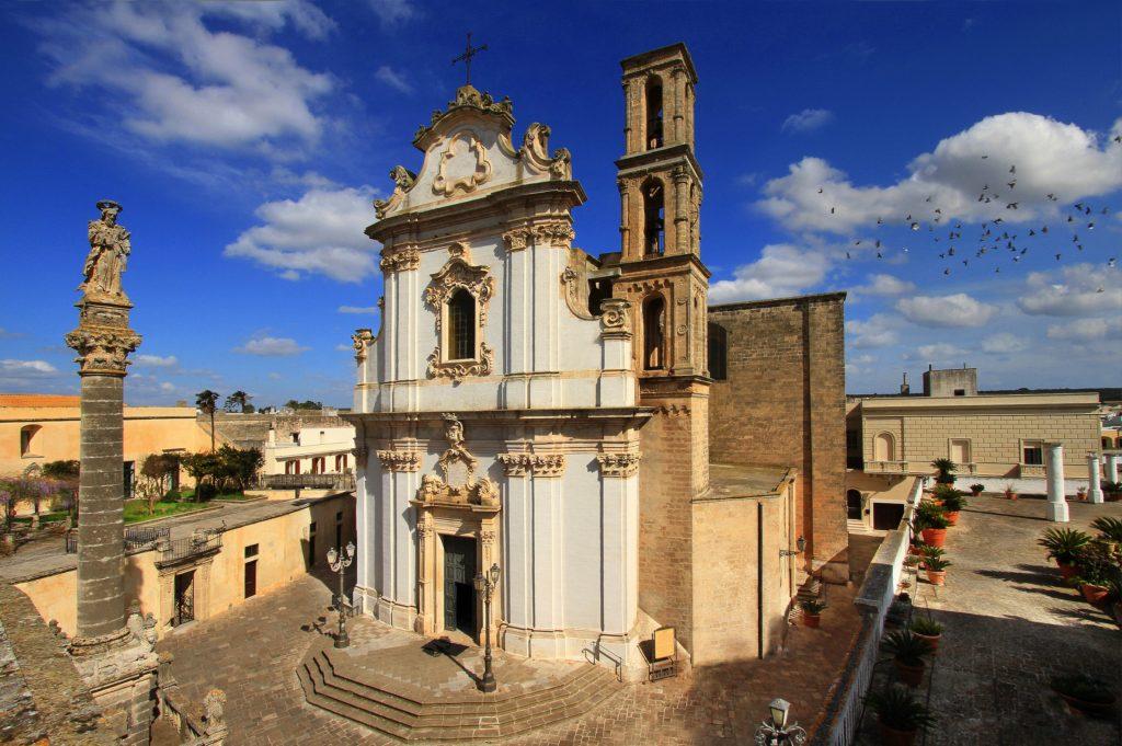 Presicce, la chiesa di Sant'Andrea Apostolo