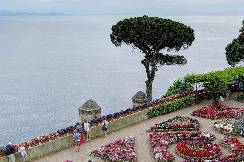 Ravello, i Giardini di Villa Rufolo. Ph. Credit Berthold Werner