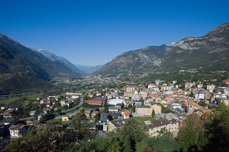 Veduta di Saint-Vincent