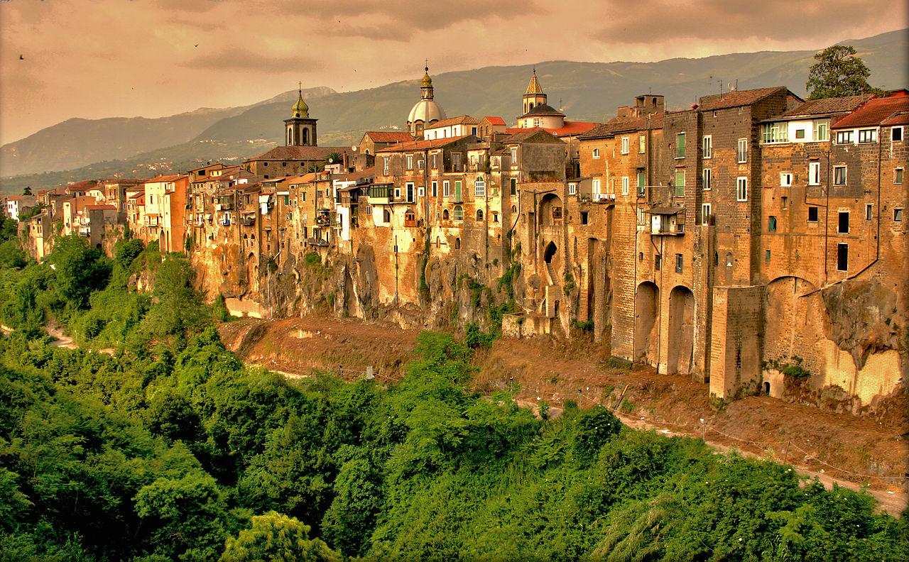 Veduta di Sant'Agata de' Goti. Ph. Credit Kris De Curtis