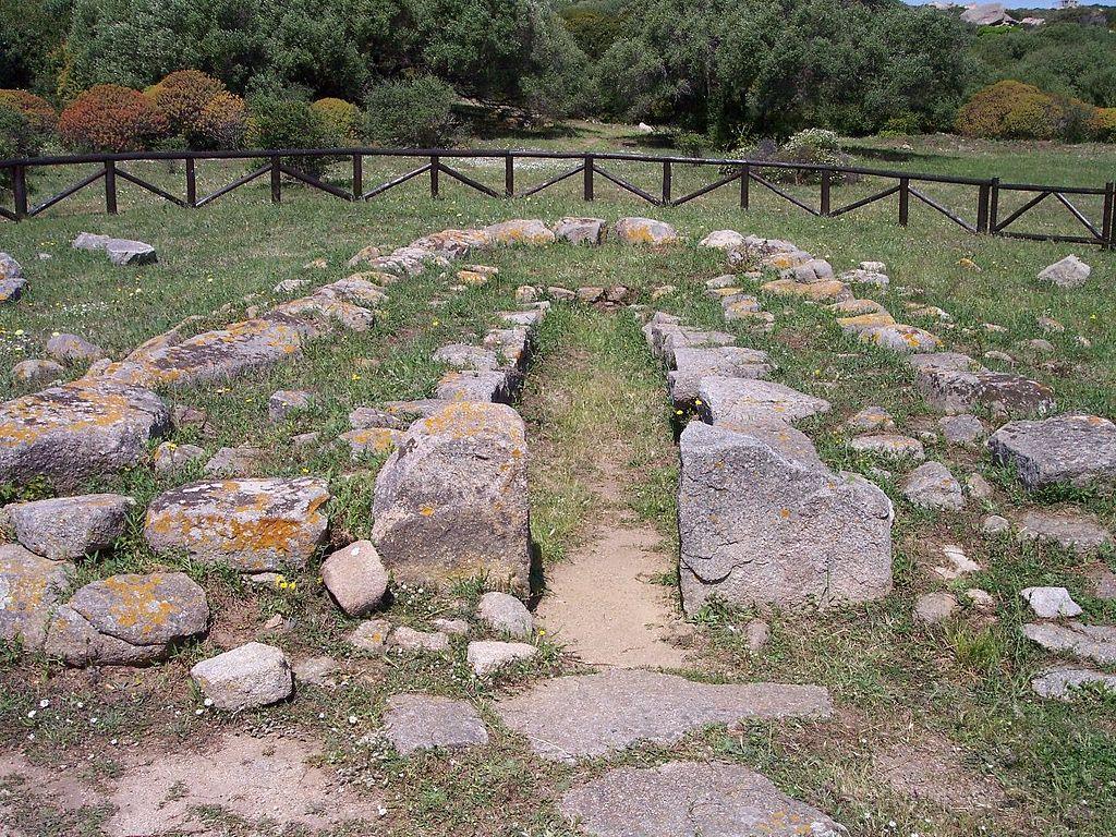 Il sito di Lu Brandali nei pressi di Santa Teresa di Gallura
