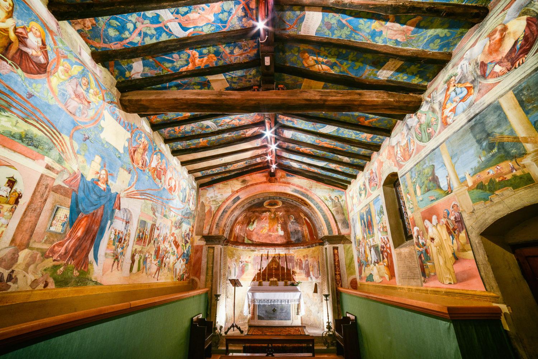 Il Cristo-Vite di Lorenzo Lotto nella cappella Suardi di Trescore Balneario