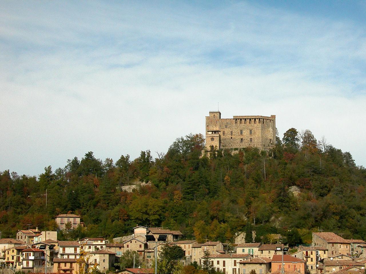 Il borgo di Zavattarello e il suo castello