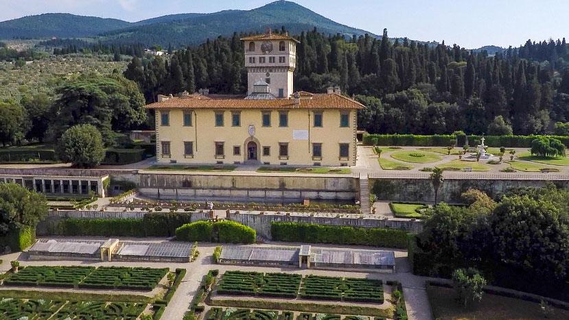 Le Ville medicee Patrimonio Unesco sono di nuovo visitabili, a ingresso gratuito e su prenotazione