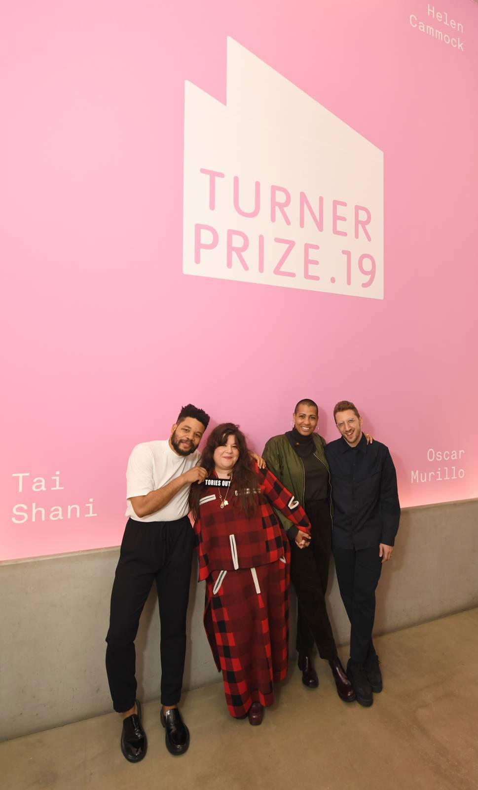 Un atto di condivisione e di solidarietà al Turner Prize 2019: vincitori tutti i finalisti