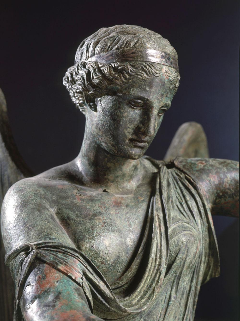 Brescia, torna restaurata la Vittoria Alata. Sarà collocata nel rinnovato Capitolium