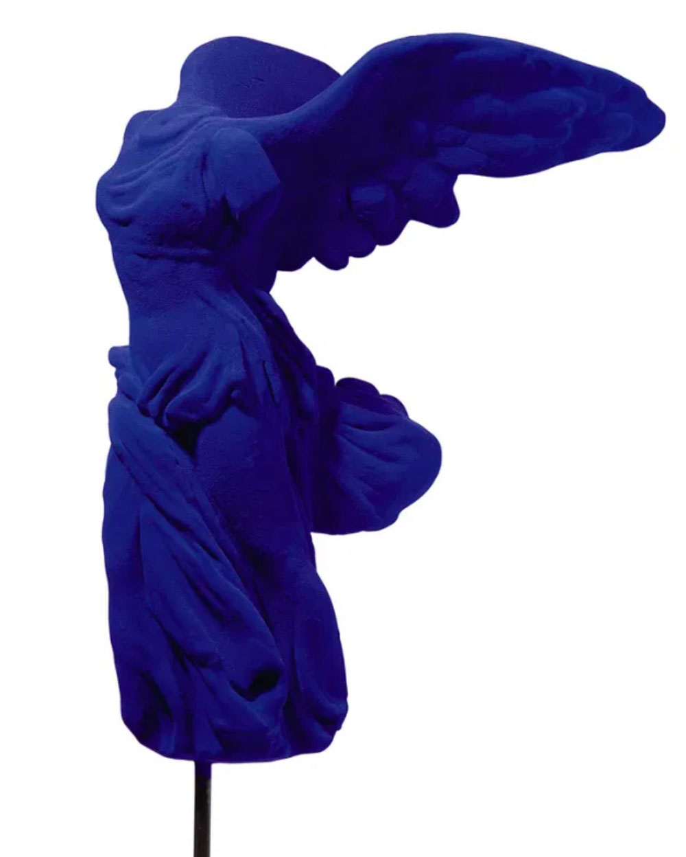 Genova, cinque mostre legate dal Blu. Dal jeans a Yves Klein
