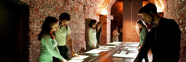 Museo Diffuso della Resistenza, Polo del '900, sotterranei di Palazzo San Celso