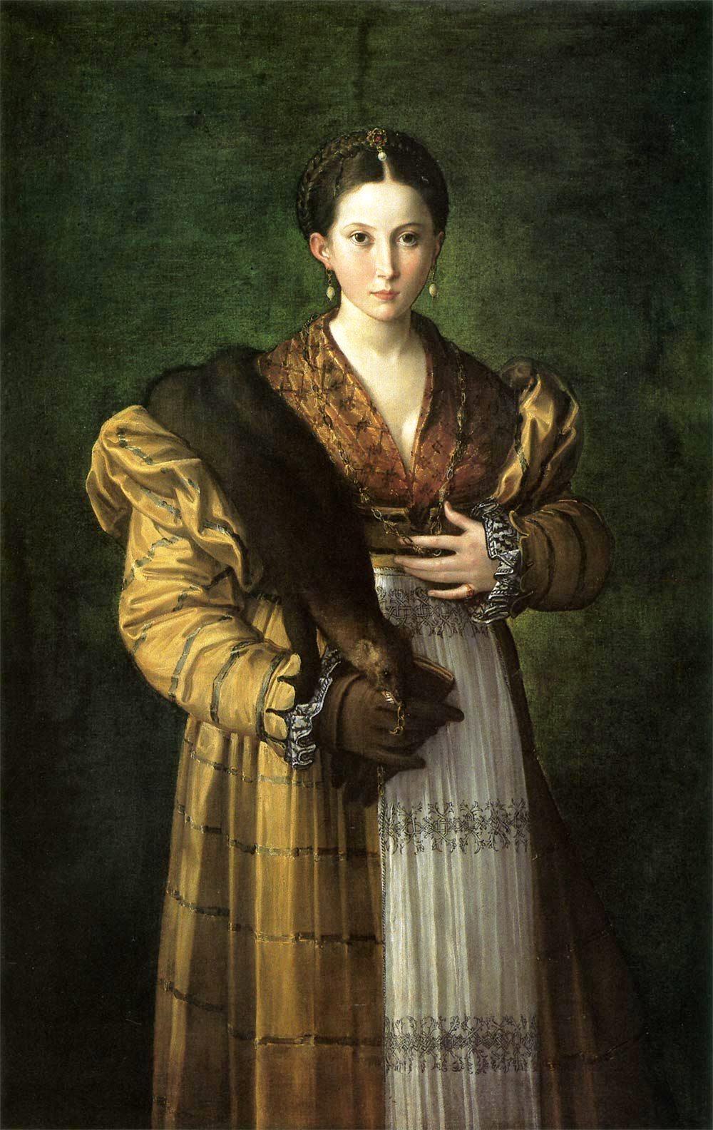 Parmigianino, Antea (1530 circa; olio su tela, 135 x 88; Napoli, Museo Nazionale di Capodimonte)