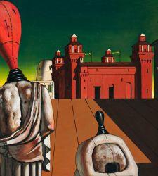 Grande mostra su Giorgio De Chirico a Pisa ripercorre la sua arte con tutti i capolavori