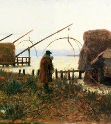 La dura vita dei pescatori che diventa poesia: le bilance a Bocca d'Arno di Francesco Gioli