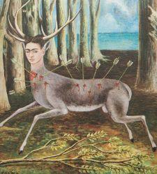 Negli autoritratti di Frida Kahlo tutto il suo travagliato caos interiore