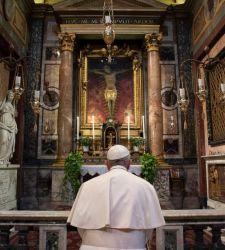 Tutta la storia, devozionale e artistica, del crocifisso miracoloso di San Marcello al Corso