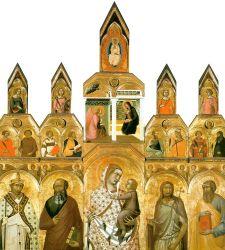 Arezzo, termina il restauro del Polittico Tarlati, capolavoro di Pietro Lorenzetti
