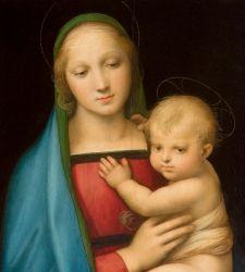 Disponibile online la visita virtuale di Raffaello 1520 -1483